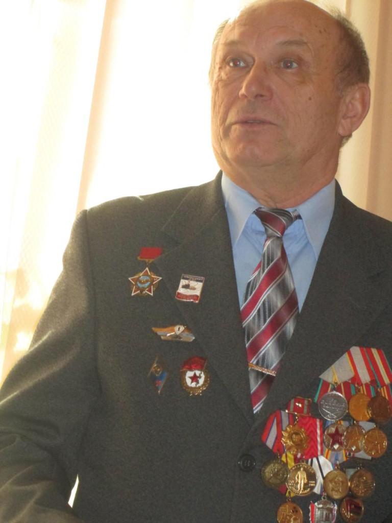 Участник встречи От Афгана до Чечни А.М. Маренич