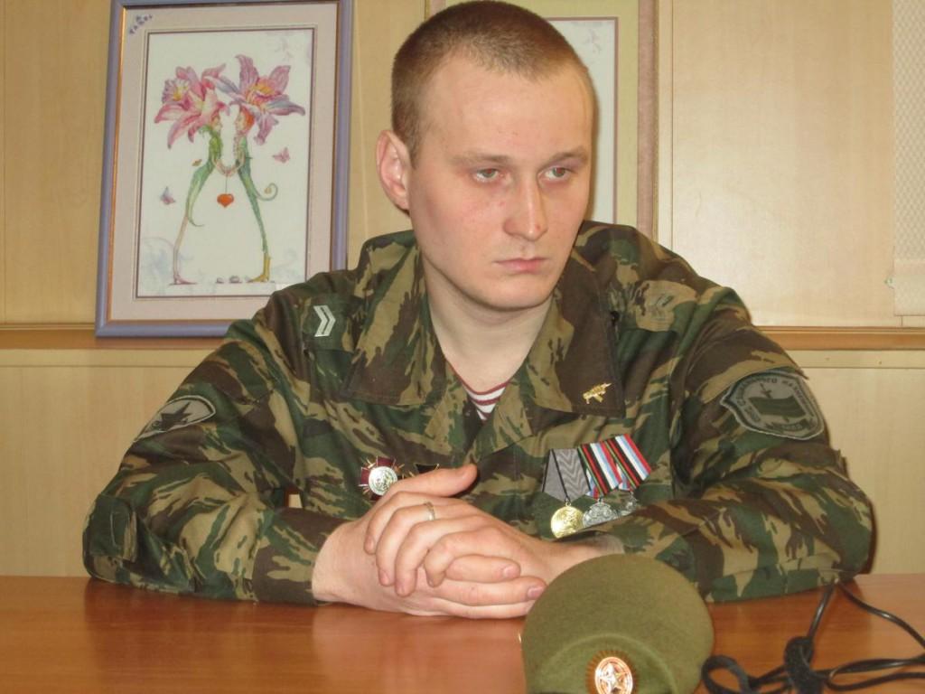 Участник встречи От Афгана до Чечни С.С. Гордиенко
