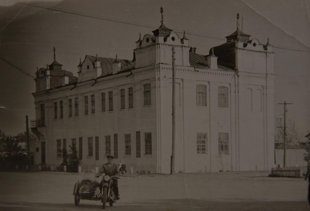 Здание торгового дома купца Селютина. 50-е года ХХ в.
